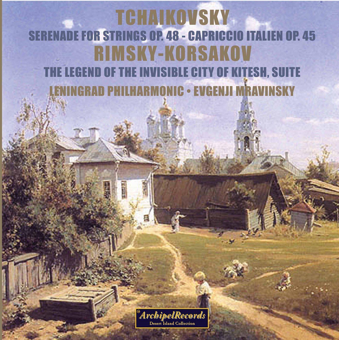 Evgenji Mravinsky conducts Tchaikovsky & Rimsky-Korsakov