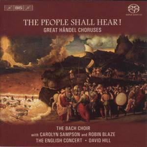 The People Shall Hear! (Great Handel Choruses)