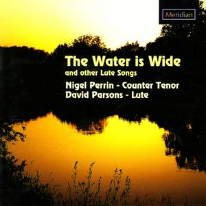 The Water is Wide and other lute songs