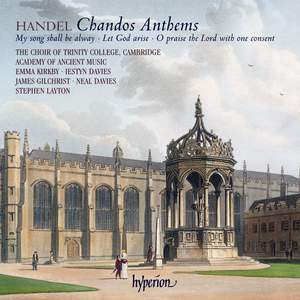 Handel - Chandos Anthems Nos. 7, 9 & 11 Product Image