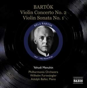Yehudi Menuhin plays Bartók