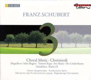 Schubert - Choral Music