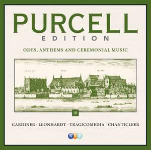 Purcell Edition, Vol. 3 – Anthems, Odes & Instrumental Music