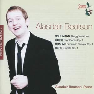 Alasdair Beatson plays Schumann, Grieg, Brahms & Berg