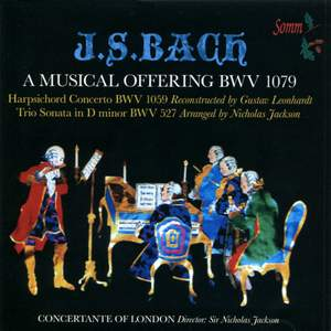 Concertante of London play Bach
