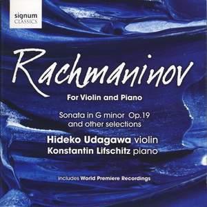 Rachmaninov for Violin and Piano