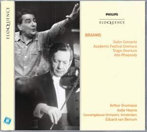 Brahms: Violin Concerto, Academic Festival Overture, Tragic Overture
