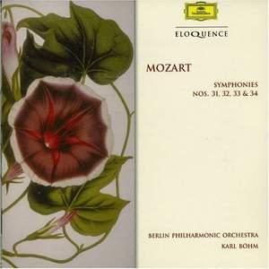 Mozart: Symphonies Nos. 31 - 34