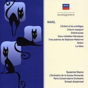 Ravel: L'enfant et les sortilèges, L'heure espagnole & other orchestral works
