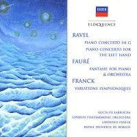 Alicia de Larrocha plays Fauré, Ravel, Franck