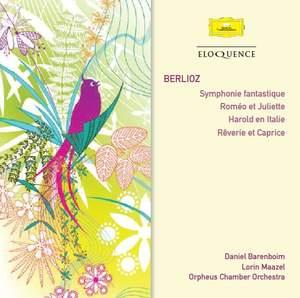 Berlioz: Symphonie fantastique, Roméo et Juliette, Harold en Italie