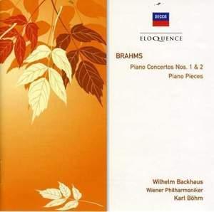 Brahms: Piano Concertos Nos. 1 & 2 and other piano pieces