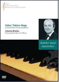 Gábor Takács-Nagy - Brahms: Piano Quartet No. 3