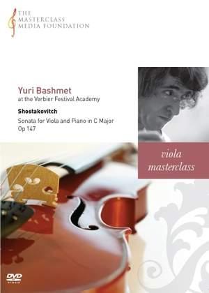 Yuri Bashmet - Shostakovich: Viola Sonata