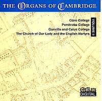 The Organs of Cambridge - Volume 2