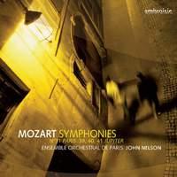 Mozart - Symphonies 31, 39, 40, & 41
