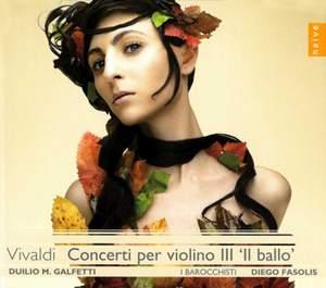 Vivaldi - Violin Concertos Volume 3 (Il Ballo)