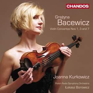 Grażyna Bacewicz: Violin Concertos, Volume 1 Product Image