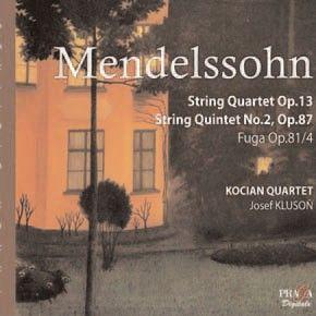 Mendelssohn - Quartet No. 2 & Quintet No. 2