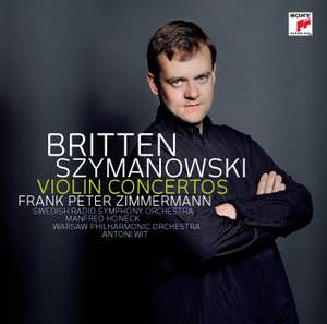 Szymanowski & Britten - Violin Concertos Product Image
