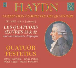Haydn - String Quartets Volume 4