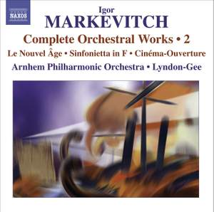 Markevitch - Complete Orchestral Works Volume 2