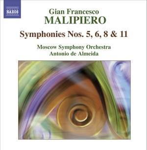 Malipiero - The Symphonies Volume 3