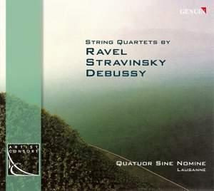 Sine Nomine Quartet play Stravinsky, Debussy & Ravel