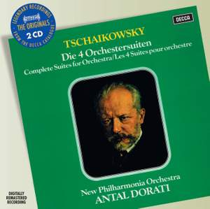 Tchaikovsky - Suites for Orchestra Nos. 1-4 Product Image