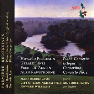 Ferguson, Finzi, Austin & Rawsthorne - Piano Concertos Product Image