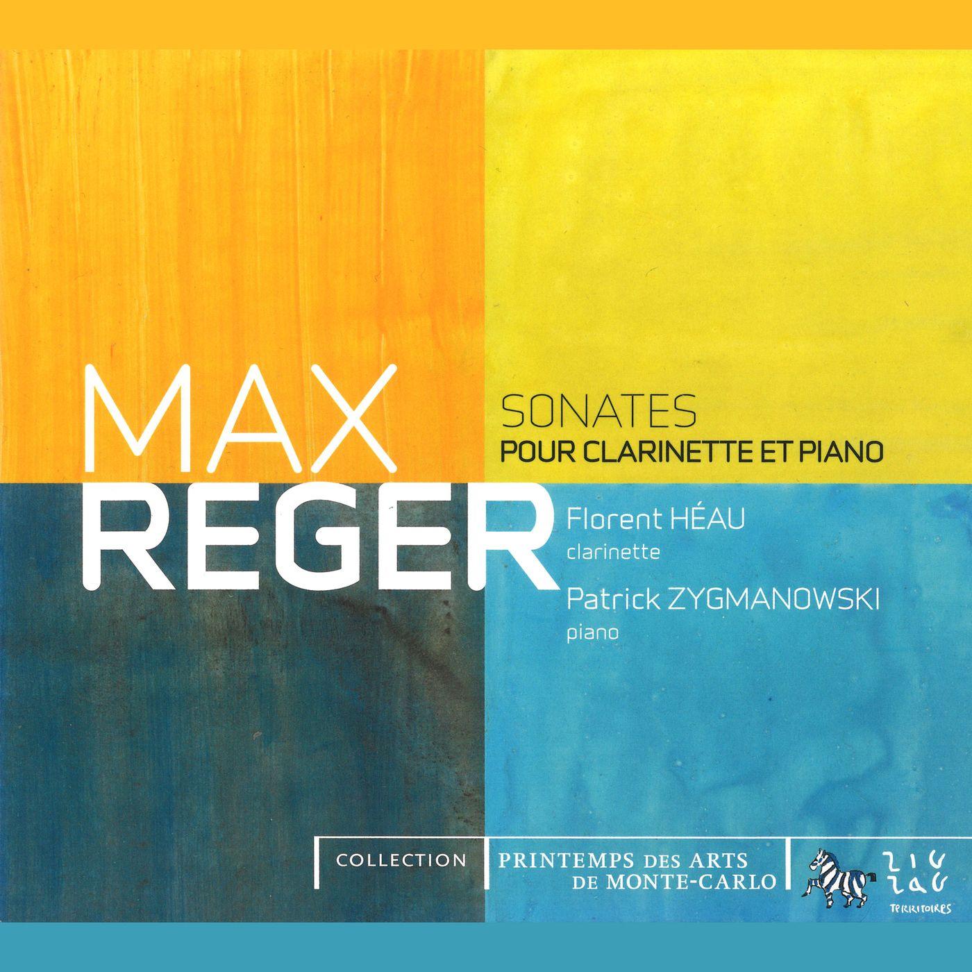 Reger - Clarinet Sonatas