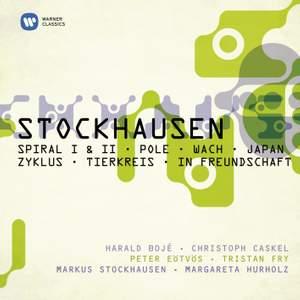 Stockhausen - Spiral I & II, Pole, Wach, Japan, Zyklus, Tierkreis & In Freundschaft