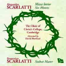 Sacred Choral Works by Alessandro and Domenico Scarlatti