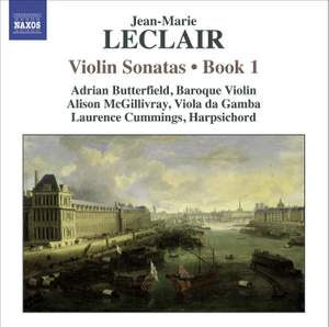 Leclair - Violin Sonatas Volume 1