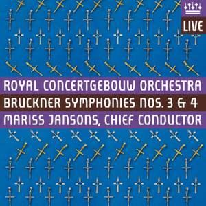 Bruckner - Symphonies Nos. 3 & 4 Product Image