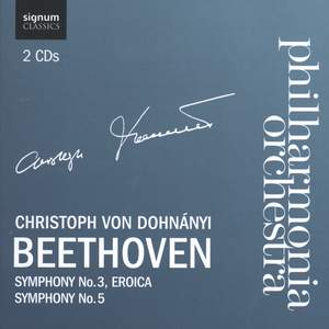 Beethoven - Symphonies Nos. 3 & 5 Product Image