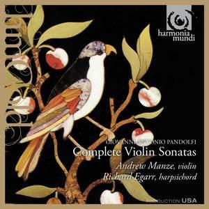 Pandolfi - Complete Violin Sonatas Product Image