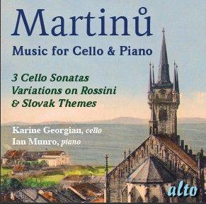 Martinu - Music for Cello & Piano