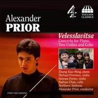 Prior: Velesslavitsa (Concerto for piano, two violins and cello)
