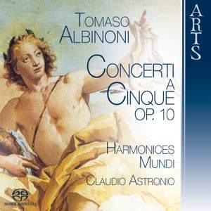 Albinoni - Concerti a Cinque, Op. 10