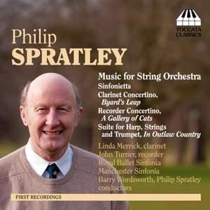 Philip Spratley: Orchestral Music, Volume One