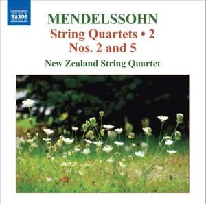 Mendelssohn - String Quartets Volume 2