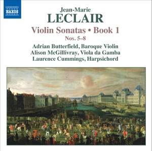 Leclair - Violin Sonatas Volume 2 Product Image