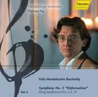 Mendelssohn - Complete Symphonies Volume 4