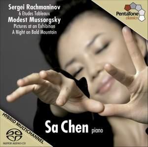 Sa Chen plays Rachmaninov & Mussorgsky