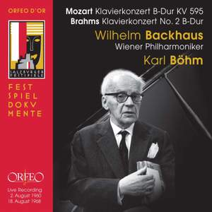 Wilhelm Backhaus plays Mozart & Brahms