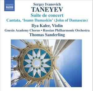Taneyev - Suite de concert & Ioann Damaskin