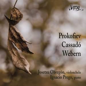 Prokofiev, Cassadó & Weber - Music for Cello and Piano