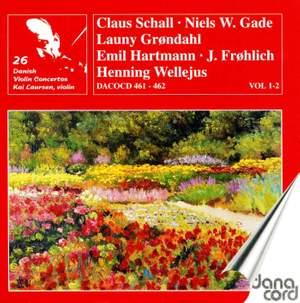 Danish Violin Concertos Volume 1