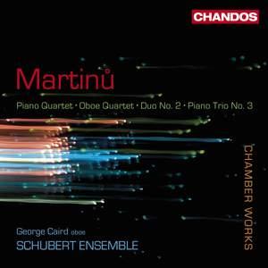 Martinu - Chamber Works